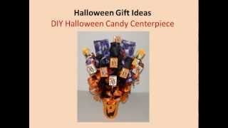Halloween Gift Ideas: DIY Halloween Candy Centerpiece Thumbnail