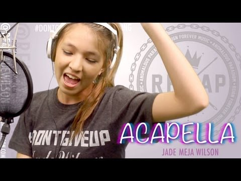 Karmin - Acapella (Cover by 13 yr old Jade Wilson)