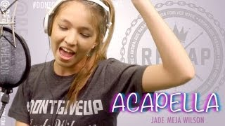 Repeat youtube video Karmin - Acapella (Cover by 13 yr old Jade Wilson)