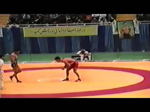 1994 Takhti Cup: 82 kg Justin Abdou (CAN) vs. Bahram Chamaan (IRI)
