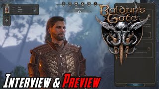Baldur's Gate 3 Interview & Preview!