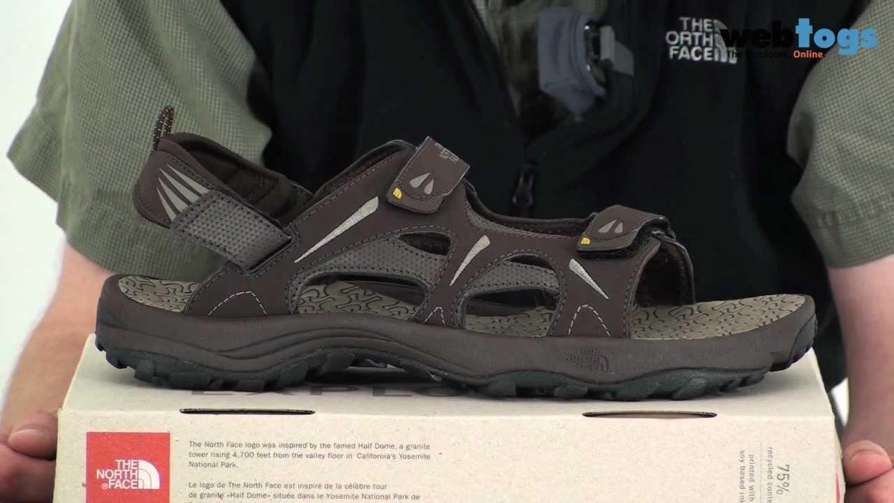 135f7287a121 North Face Men s Hedgehog Sandals - Super comfy water friendly sandals. -  YouTube