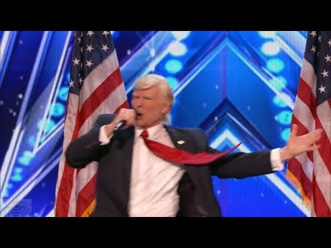 Thumbnail: America's Got Talent 2017 Donald Trump Wins Again Full Audition S12E01