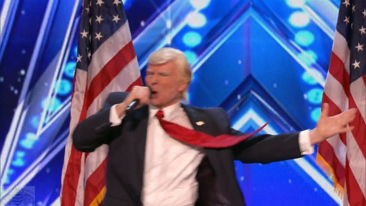 Americas got talent 2017 impersonations - America S Got Talent 2017 Donald Trump Wins Again Full Audition S12e01
