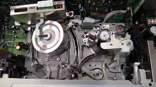 Panasonic HS950 S-VHS VCR overhaul and head cleaning