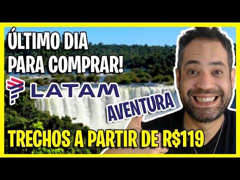 ÚLTIMA CHANCE! PROMOÇÃO LATAM AVENTURA COM PASSAGENS A PARTIR DE R$119!