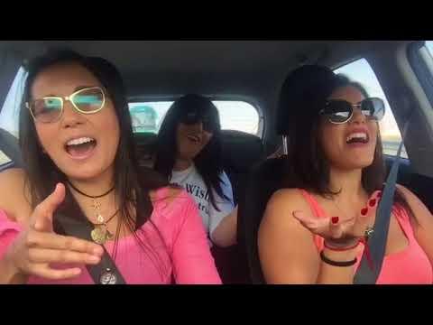 """Love Me Like You Do"" Car Karaoke at The Dead Sea"