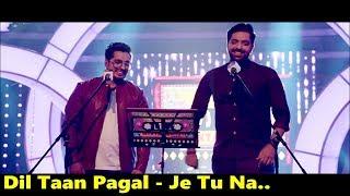 Dil Taan Pagal - Je Tu Na - Akhil Sachdeva | Amber Vashisht | T-Series Mixtape Punjabi | Lyrics
