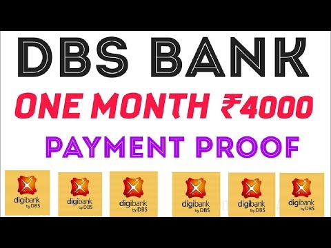 DBS BANK PAYMENT PROOF REFAR AND EARN 4000 PER MONTH