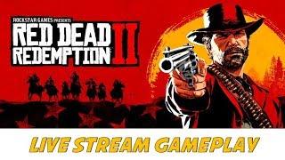 RED DEAD REDEMPTION 2 - Live Stream Gameplay