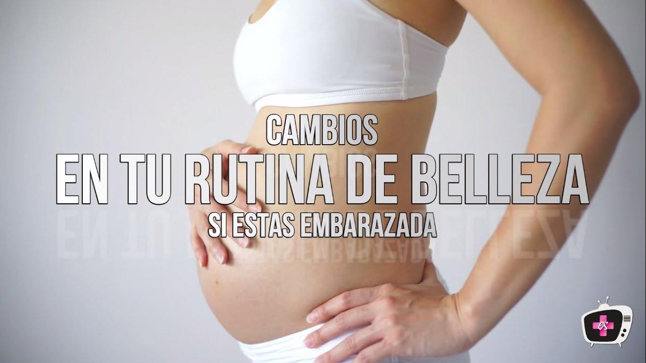 Belleza durante el embarazo