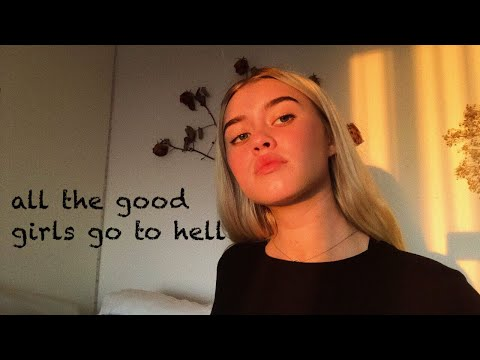 acoustic billie eilish - all the good girls go to hell (cover)