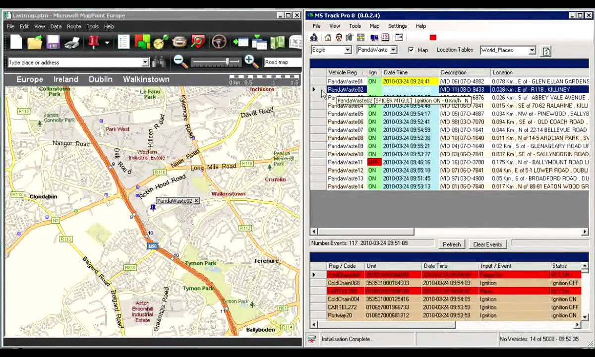 Fleet Management software demo - MS Track Pro - YouTube