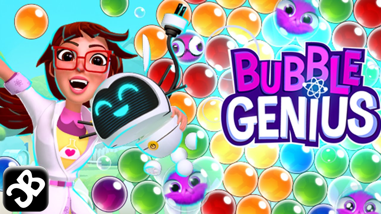 ApkMod1.Com Bubble Genius Popping Game! v1.53.0 + МOD (High reward value/Ads-free) download free Android Game Puzzle