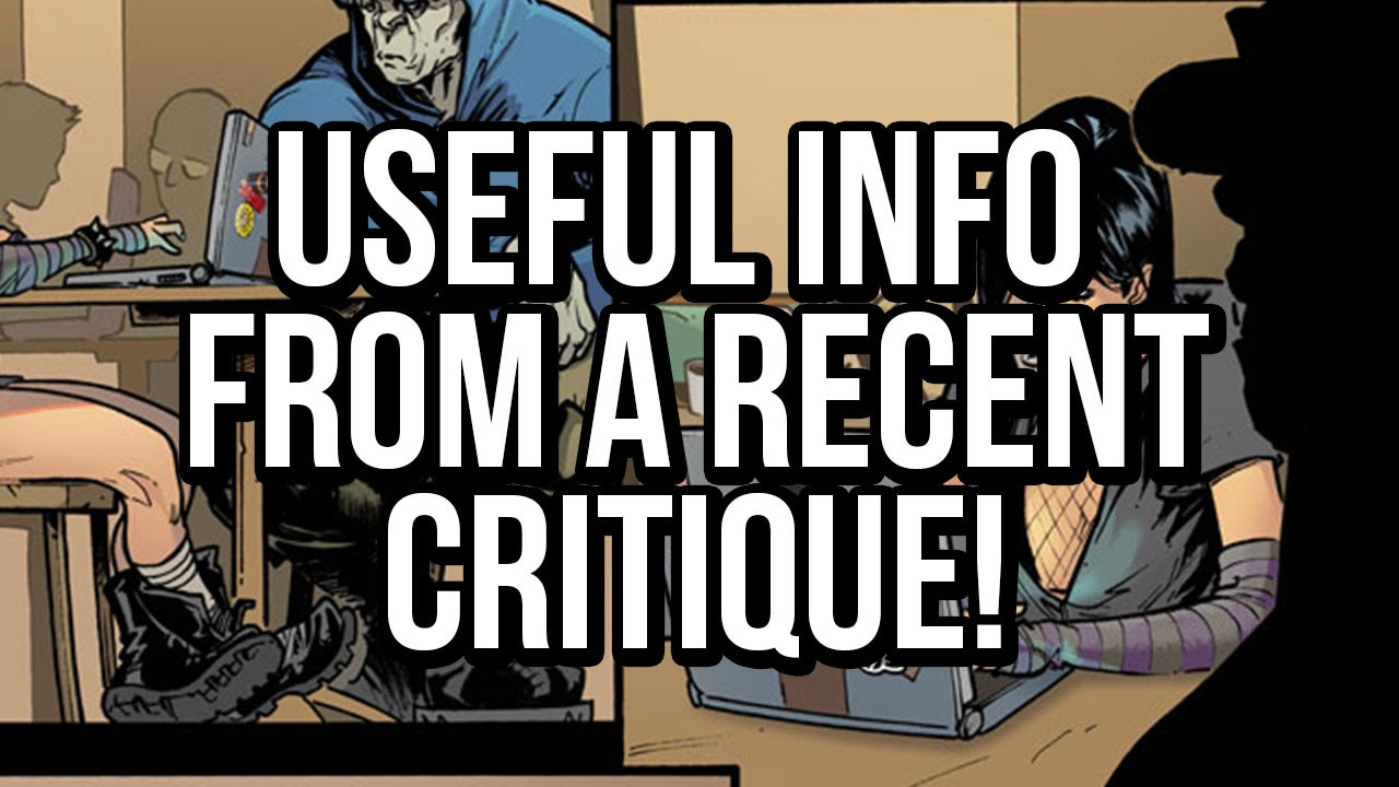 I received a really useful critique from a Marvel colorist! Great coloring  tips here  - YouTube