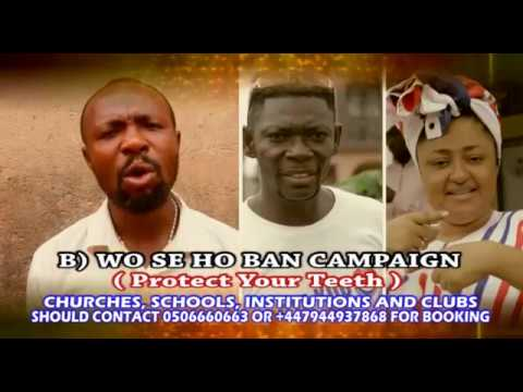HOW TO REPAIR BROKEN AND SPOILED TEETH WITH DOO IN GHANA LANGUAGE