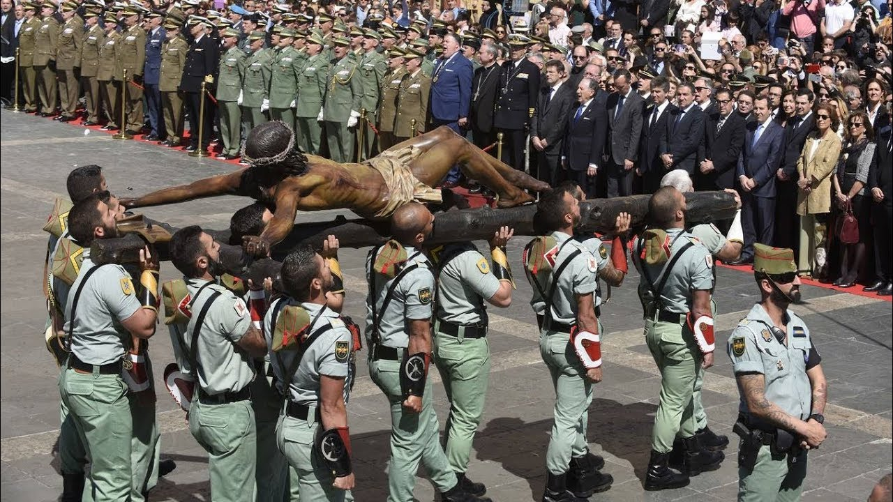 Câu chuyện tượng Đức Mẹ tại căn cứ quân sự El Goloso Tây Ban Nha