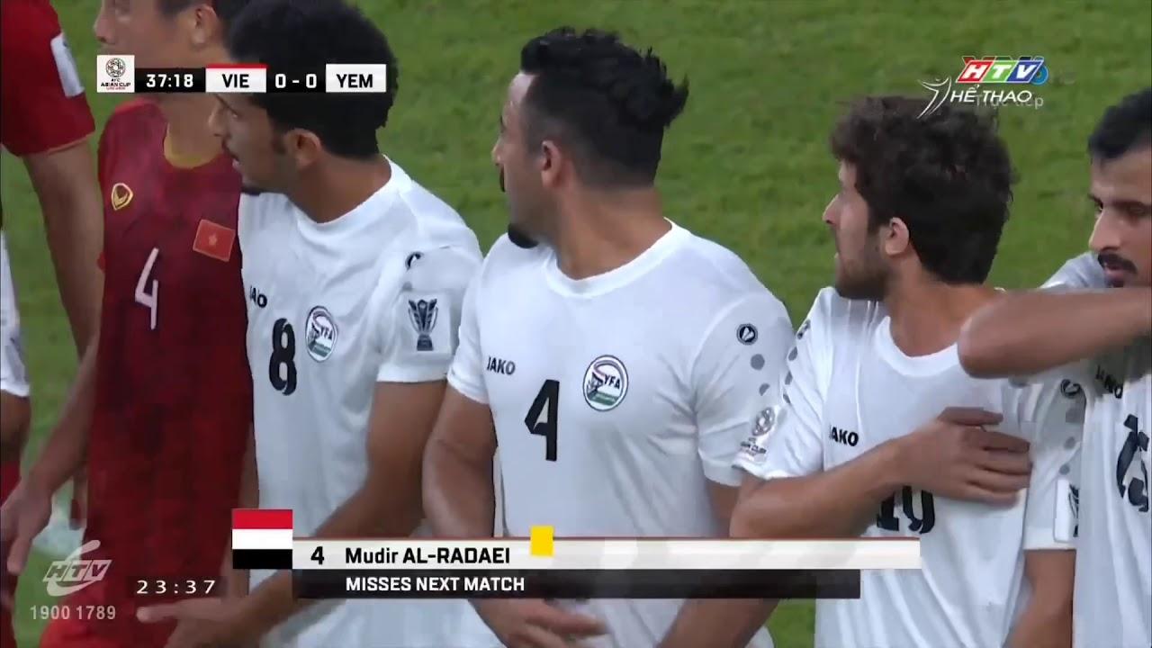 Việt Nam 2- 0 Yemen – Quang Hải xé lưới khung thành Yemen bằng cú sút phạt đẳng cấp thế giới.