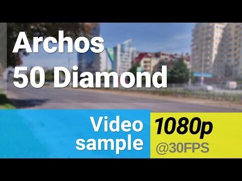 Archos 50 Diamond 1080p video sample