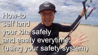Kitesurfing: How to self-land your kite safely and easily