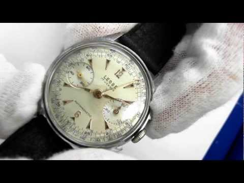 Vintage Leobe Chronograph (Circa 1950) - Mechanical in Stainless Steel