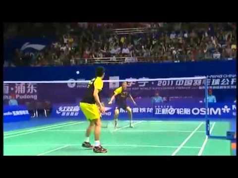 【 バドミントン スーパープレー集 】 Top Badminton Points