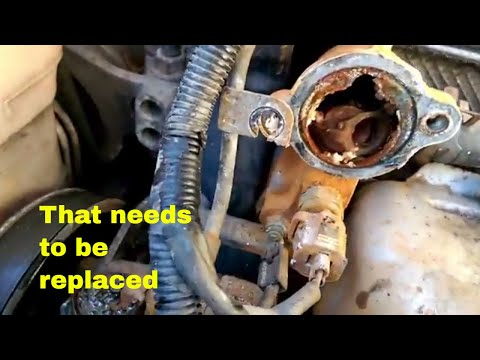 Thermostat Replacement | Mitsubishi Eclipse, Plymouth Laser, and Eagle Talon | How To