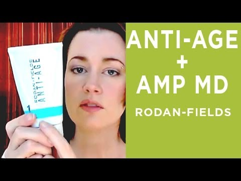 RODAN FIELDS REVIEW : ANTI-AGE and AMP MD - YouTube
