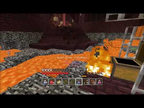Minecraft Battle Mode Late Gameplay (Xbox One)