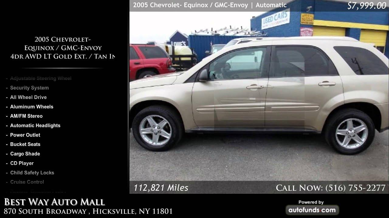 2005 Chevrolet Equinox GMC Envoy 4dr AWD LT Gold Ext Tan Int