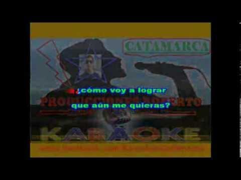 Pedro Aznar   Ya no hay forma de pedir perdon ( karaoke ) (PRODUCCIONES ROBERTO)
