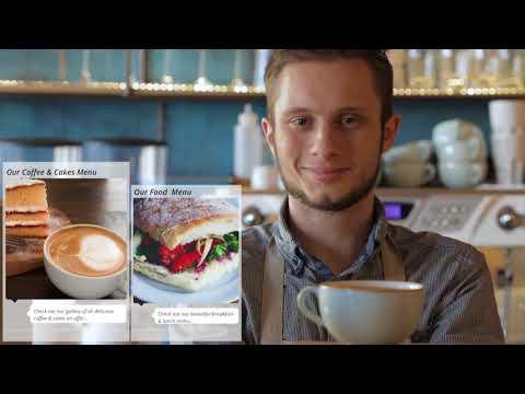 Mobile App for Cafe, Bar and Restaurant