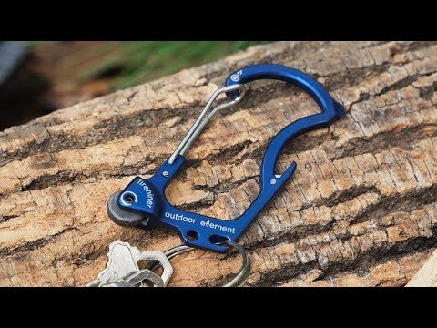 Outdoor Element | Flint Multi-Tool Carabiner