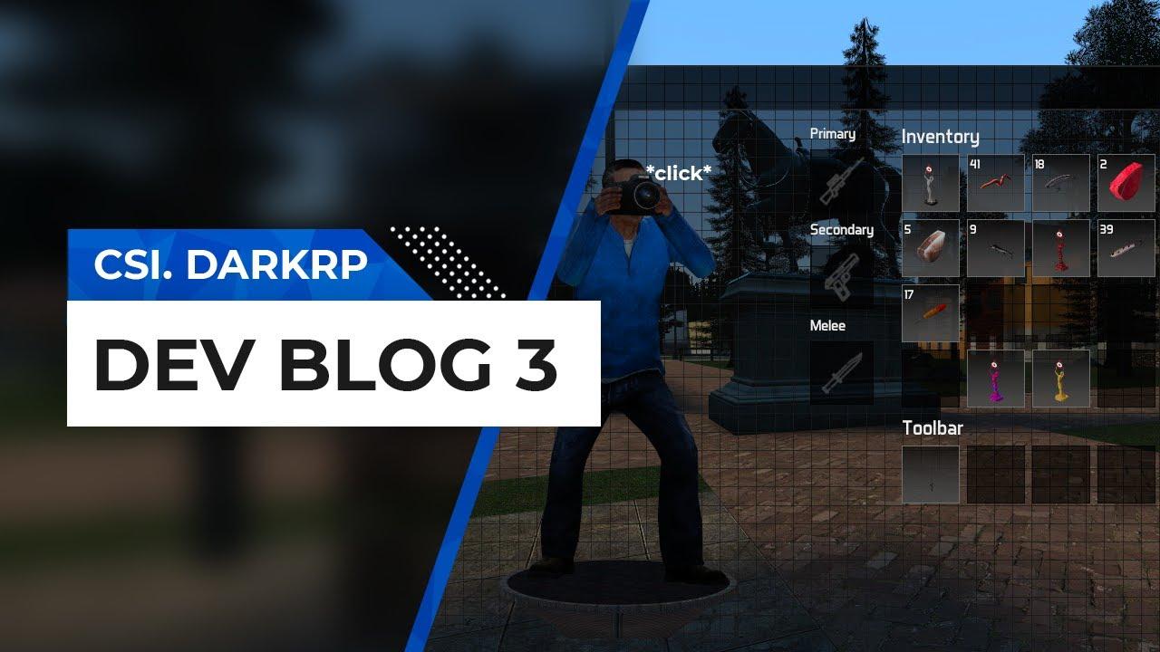 Garry's Mod - CSi. DarkRP - Dev Blog 3