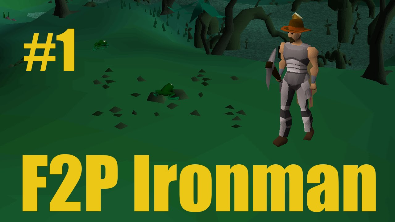 [OSRS] F2P Ironman Progress - Ep 1 - A Free to Play Runescape Adventure