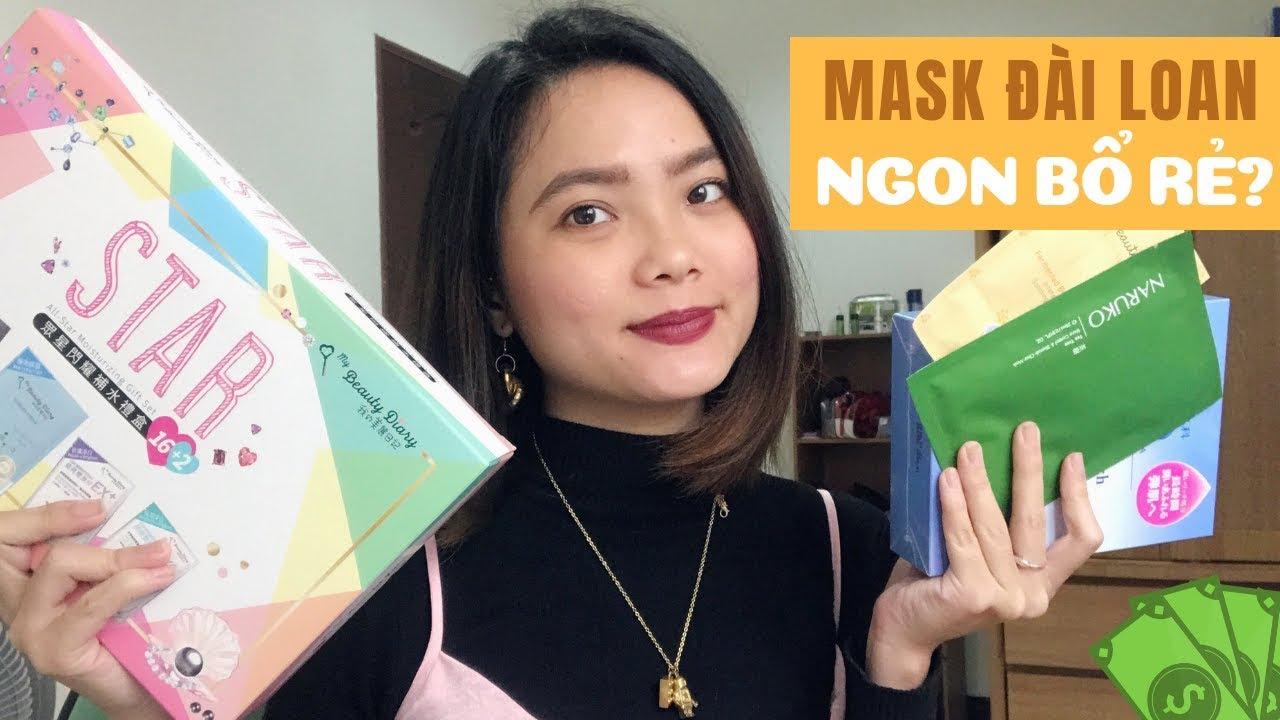[REVIEW] Mặt Nạ ĐÀI LOAN Mình Yêu Thích Nhất 2019 || Naruko, My Beauty Diary
