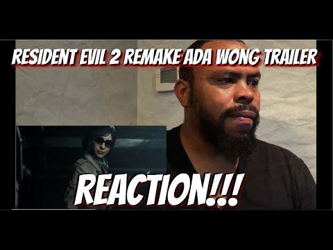 Resident Evil 2 Remake Story Trailer REACTION!!!