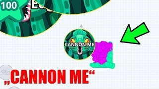 Agar.io Mobile - TROLLING 'CANNON ME' | Funniest CANNONSPLIT REVENGE | EPIC MOMENTS | AGAR.IO!
