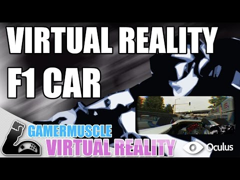 UNBELIEVABLE VIRTUAL REALITY F1 CAR  !  - GamerMuscle Virtual Reality
