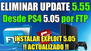EXPLOIT PS4 TUTORIAL y Borrar UPDATE 5.55 Manualmente - Activar Updated Blocker - NO ES UN DOWNGRADE