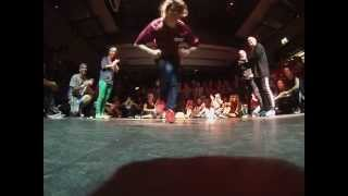 The Notorious IBE 2014 BGirl Battle Sophiela M.O.T. Crew Magdalena