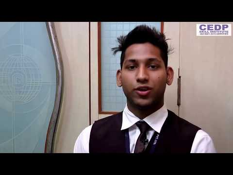 Hotel Management Training - Student Sharing His Experience