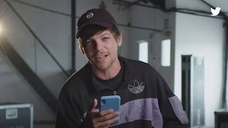 #BehindTheTweets with Louis Tomlinson   Twitter