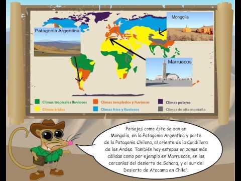 Mi Geografía - Paisajes y climas del mundo