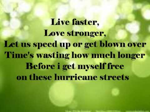 Hurricane Streets by Hey Monday {lyrics}