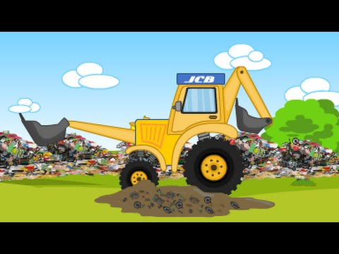 Jcb Jcb For Children Jcb And Garbage Trucks Videos For Children