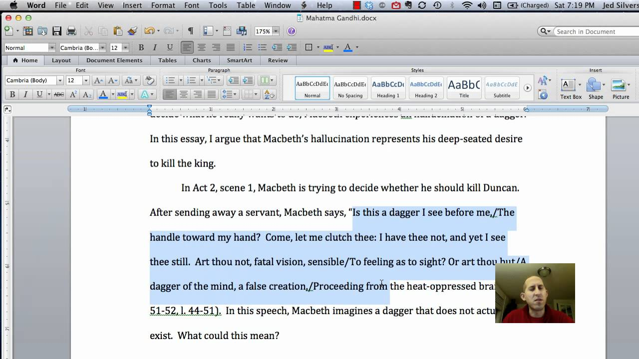 how to properly write a quote in an essay