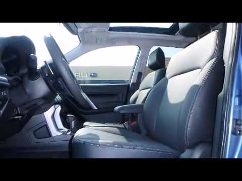 2016 Subaru Forester 2 0xt Touring W Eyesight Nav Youtube
