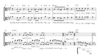 Viola - Bohemian Rhapsody - Queen Sheet Music, Chords, and Vocals