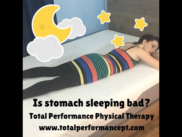 Is stomach sleeping bad for you?